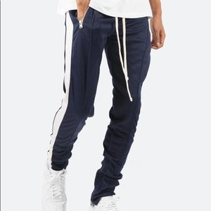 MNML. S Navy Blue, track pants/joggers